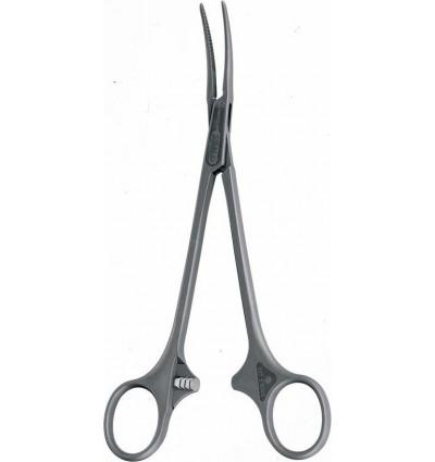 Зажим изогнутый хирургический одноразовый SUSI® 185 мм