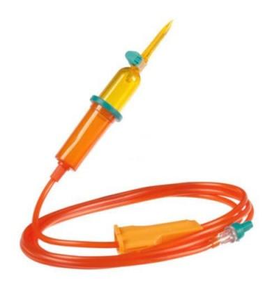 Линия Инфузомат Спейс 250 см для светочувствительных препаратов (оранжевая)