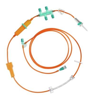 Инфузионная система для введения химиопрепаратов Cyto-Set® Infusomat® Space светозащитная