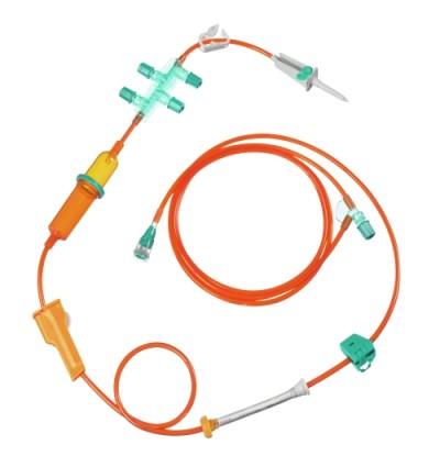 Инфузионная система для введения химиопрепаратов Cyto-Set Infusomat Plus светозащитная