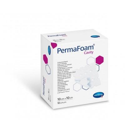 Губчатая повязка Permafoam Cavity 10*10см