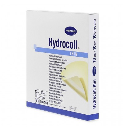 Гидроколлоидная повязка Hydrocoll Thin 10*10см
