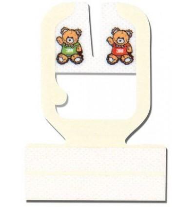 Наклейка прозрачная пленочная 3М™ Tegaderm I.V., с U-образным вырезом 5см*5.7см