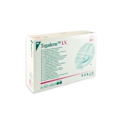 Наклейка пленочная прозрачная 3М™ Tegaderm Film, с U-образным вырезом, 6см*7см
