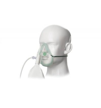 Кислородная маска высокой концентрации взрослая Ecolite