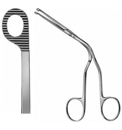 Щипцы для введения катетера изогнутые для взрослых по Magill 25см