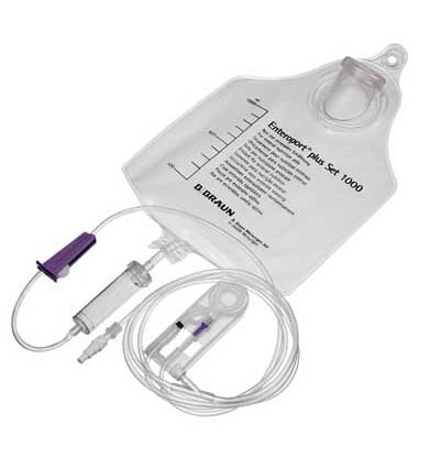 Система для энтерального питания ENTEROPORT® плюс ENFiT с универсальным адаптером