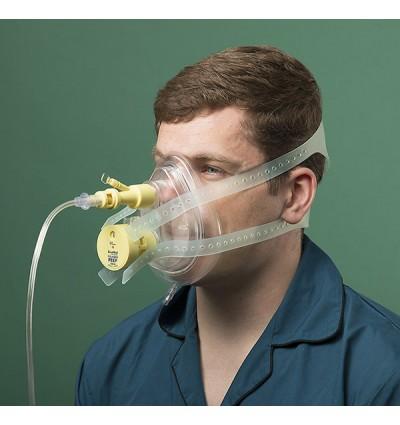Маска для СРАР терапии с клапаном Вентури и РЕЕР клапаном M/L