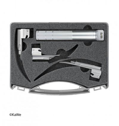 Набор ларингоскопов для использования в неонатологии 1 рукоять + 3 клинка Miller