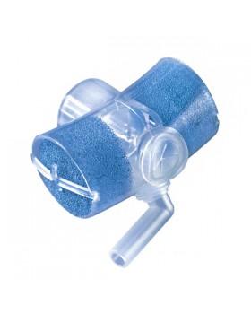 Фильтр для трахеостомы (искусственный нос) с кислородной трубкой 2.1 м