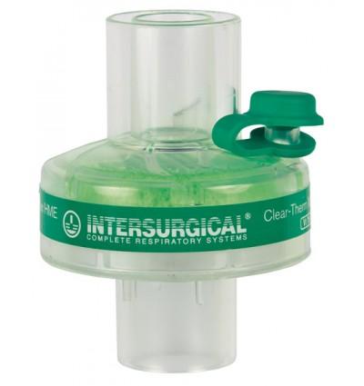 Дыхательный тепловлагообменный и вирусобактериальный фильтр CLEAR-THERM MINI
