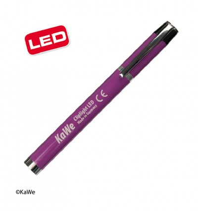Фонарик диагностический Cliplight LED, фиолетовый