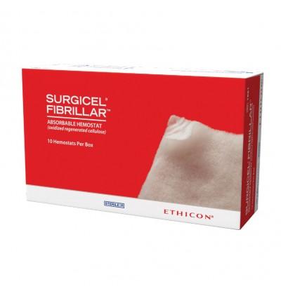 Гемостатический материал Surgicel Fibrillar (Фибриляр) 5см*2,5см